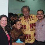 Donna Grandin, Cynthia St. Omer, Dunstan St. Omer, St.Lucia (http://bluerootsartstudio.com/; https://www.facebook.com/Dunstan-GR-St-Omer-149104628461876/)