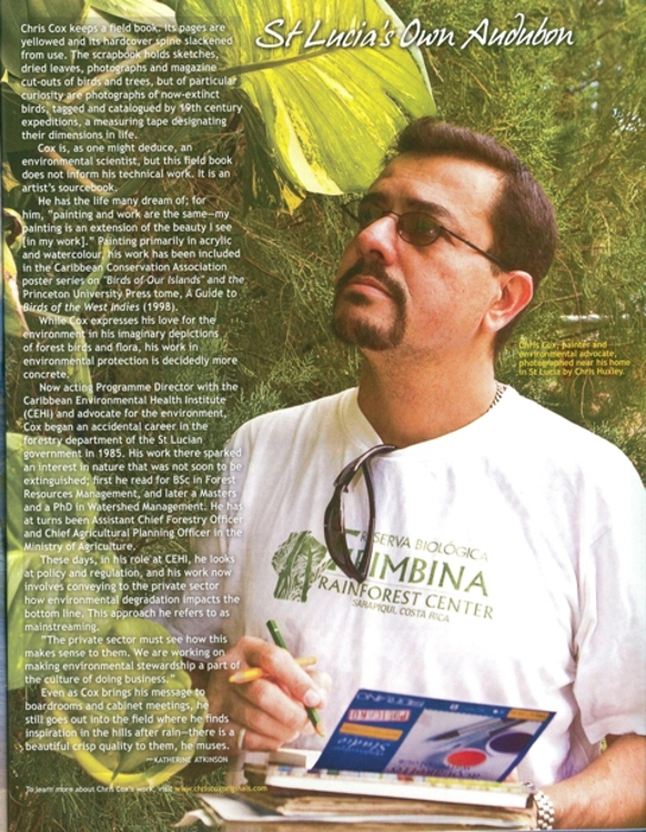 Featured in Air Jamaica Skywritings in-flight magazine (Mar-Apr 2008 issue)