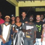 St. Lucia artist gathering at my home, August 2014